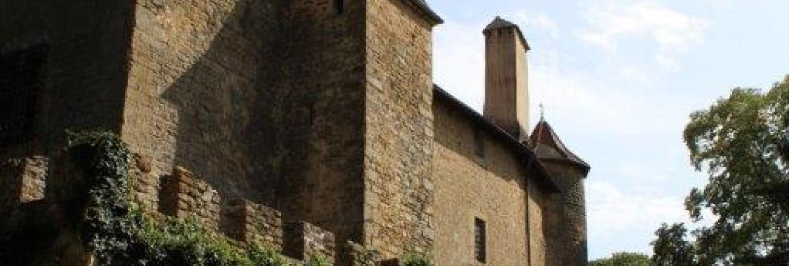 Circuit du patrimoine _ château de Charmes _ Charmes sur l'herbasse