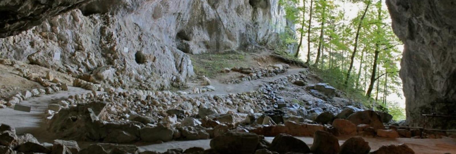 Porche de la Grotte de la Luire