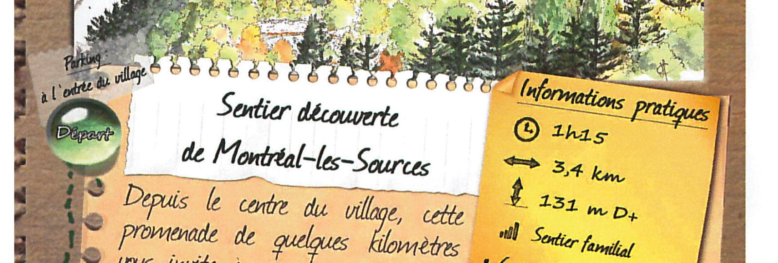 Sentier découverte de Montréal les Sources