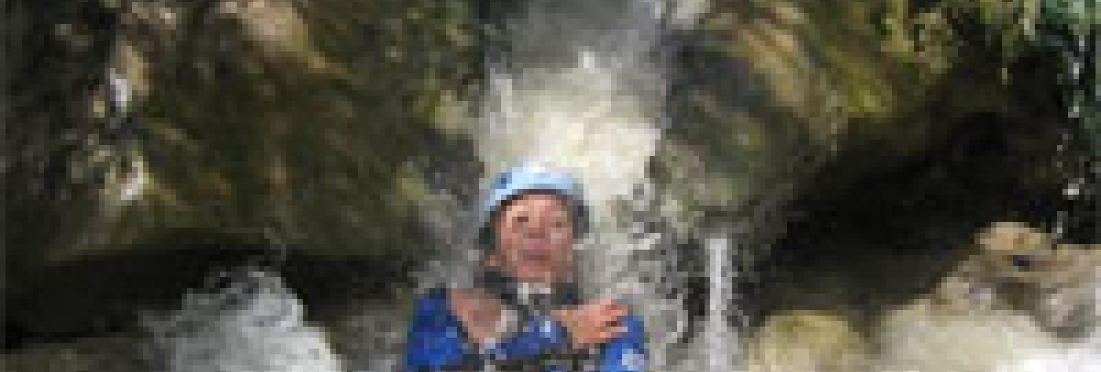 Randonnée aquatique dans le Diois avec Acroconcept