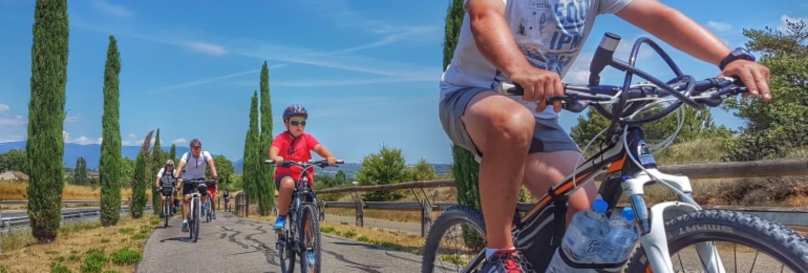 La Drome provençale à vélo