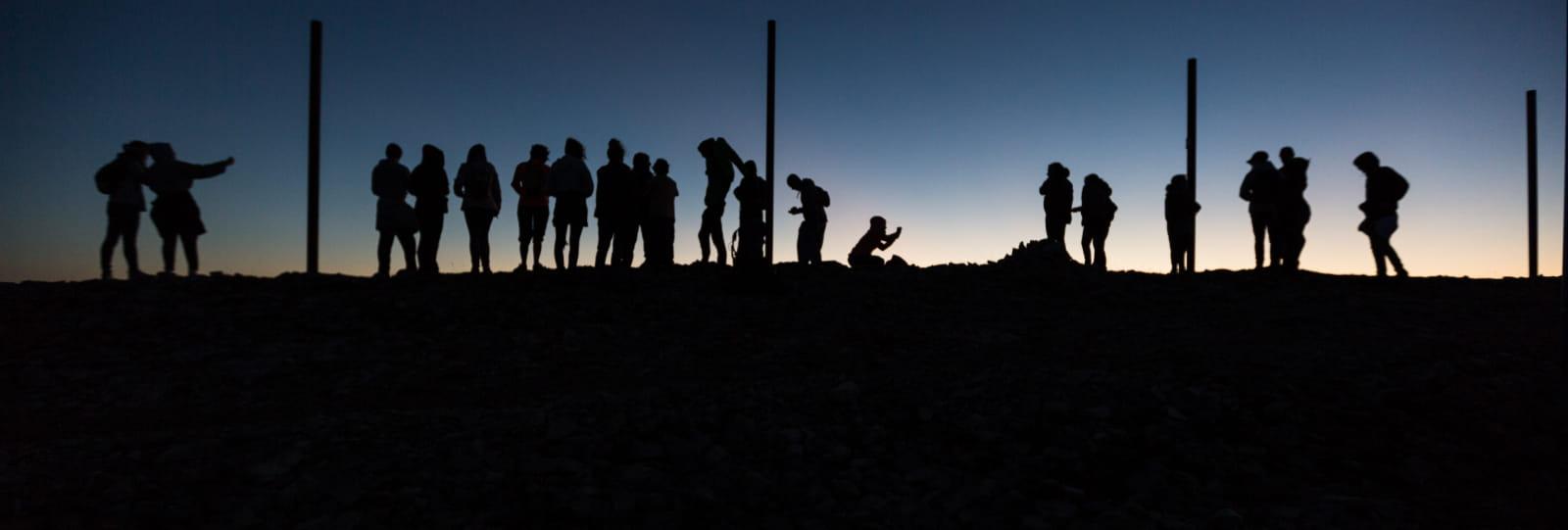 Lever du soleil et observation des Chamois au Mt Ventoux (Baladez curieux)