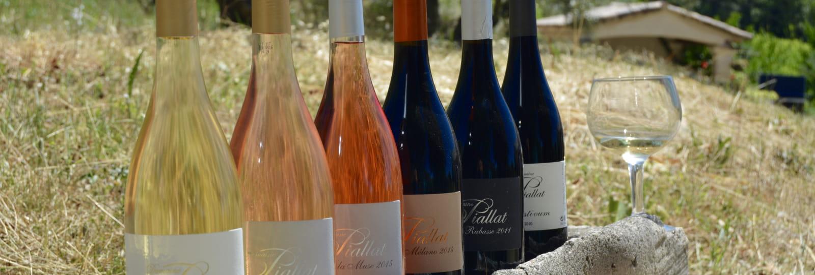 Gamme des vins - Domaine Piallat