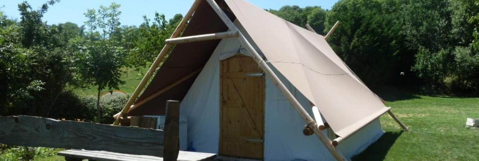 Tente trappeur Aire Naturelle de Simondon