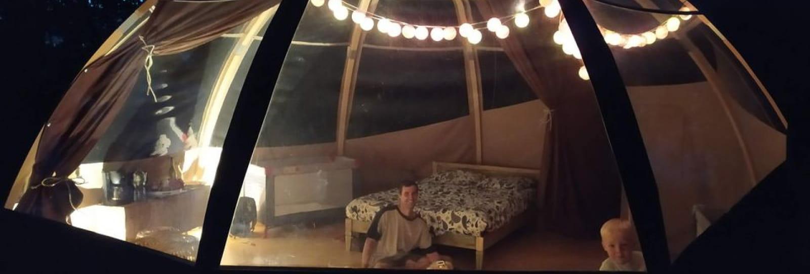 bulle camping de senaud