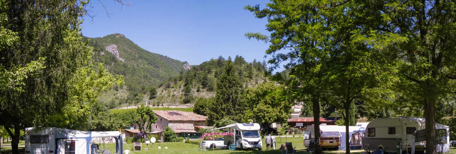Camping de la Clairette