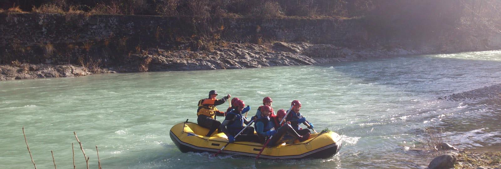 Rafting avec EVA Location