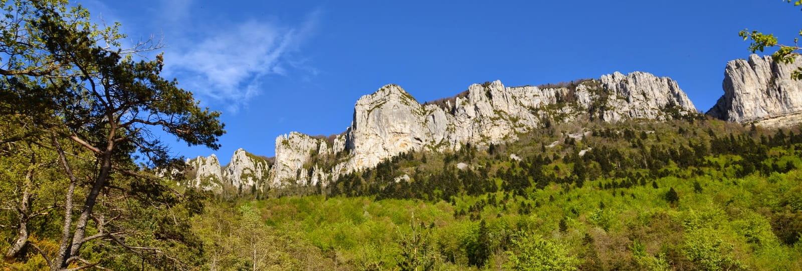 Grottes et montagnes des Ussets
