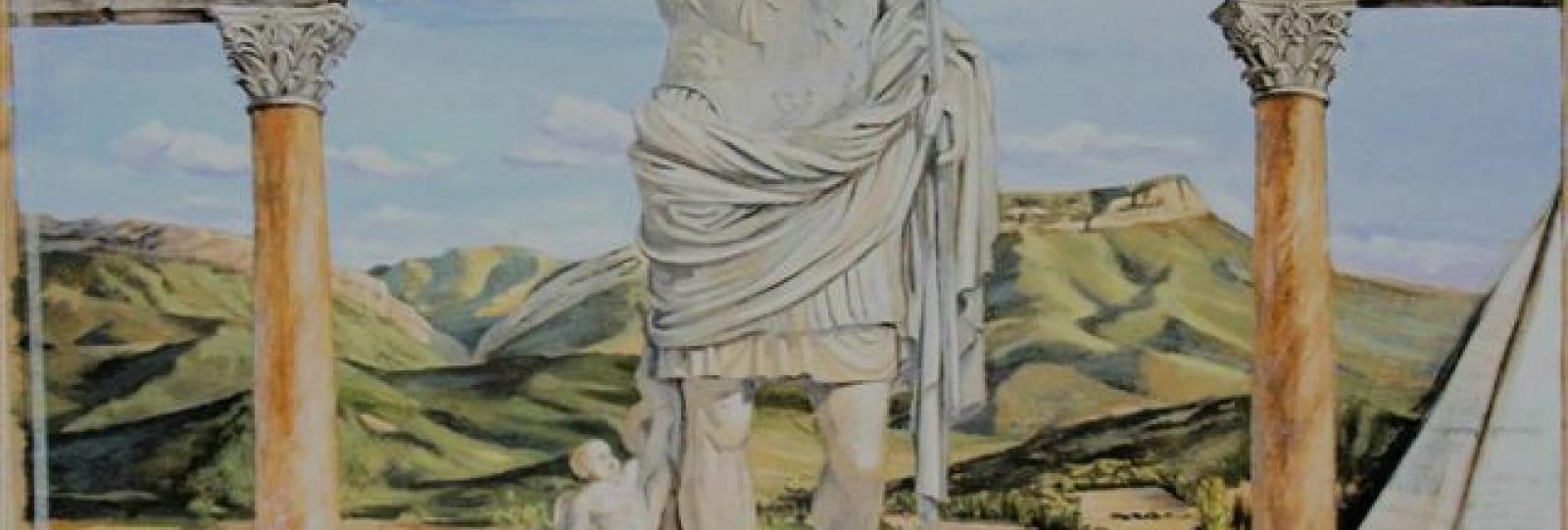 Fresque d'Auguste