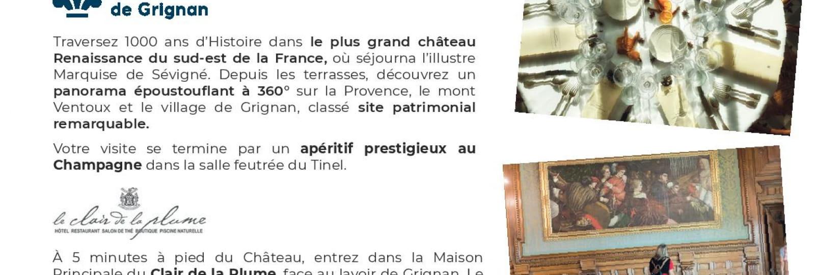 Recto - Journée Etoilée - Château de Grignan