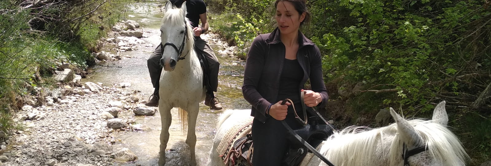 Balade à cheval (Baladez curieux)