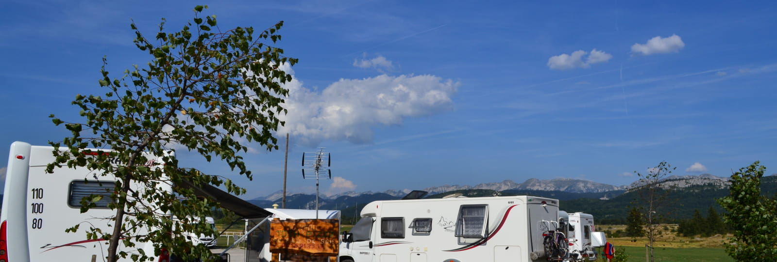 Aire Camping-Cars de Vassieux en Vercors