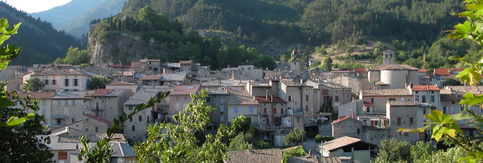 Village médiéval de Châtillon-en-Diois
