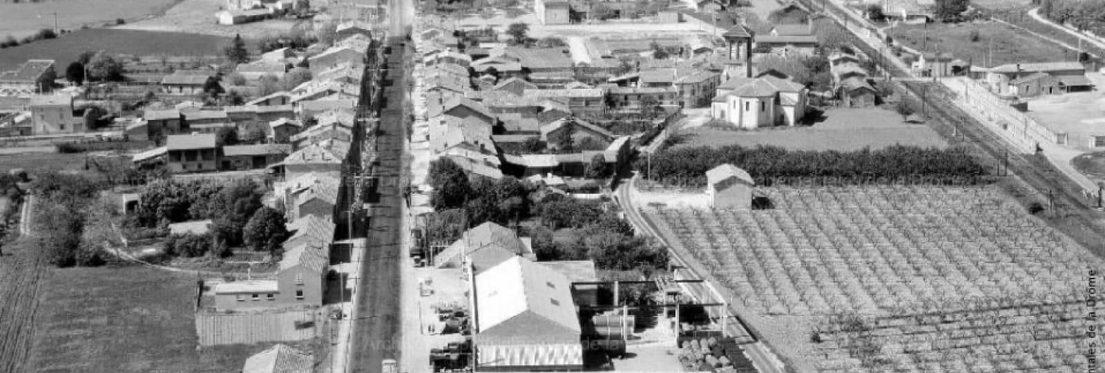La ville de Saint-Marcel-lès-Valence