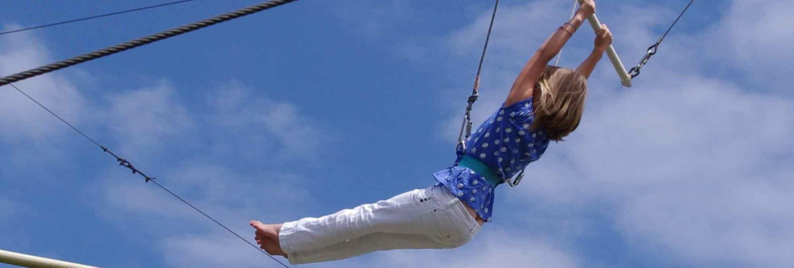 Week-end insolite : faire du trapèze-volant dans la Drôme !
