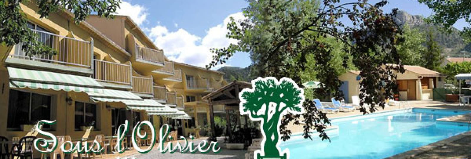 hôtel sous l'olivier