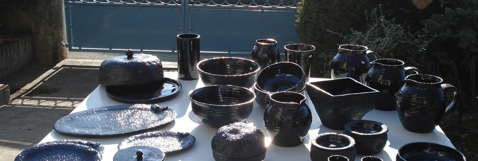 Cours de poterie (modelage et tournage) chez C.Bonenfant
