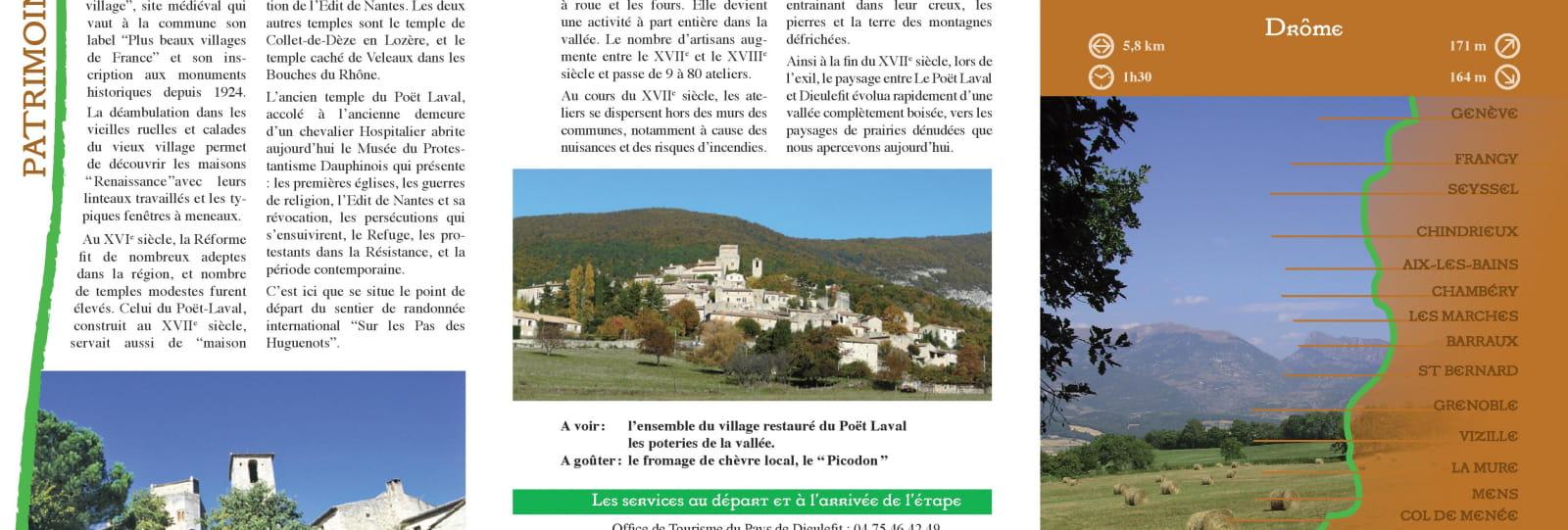 GR 965 Sur les pas des Huguenots (étape 1)
