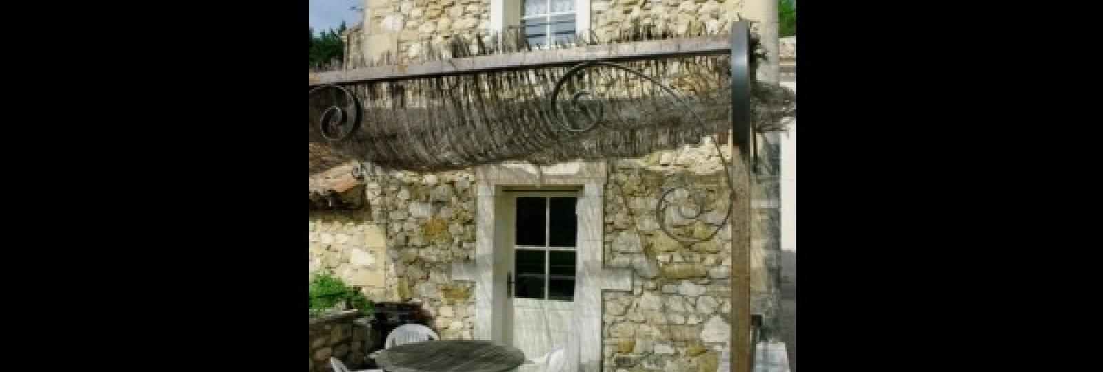 Entrée et terrasse