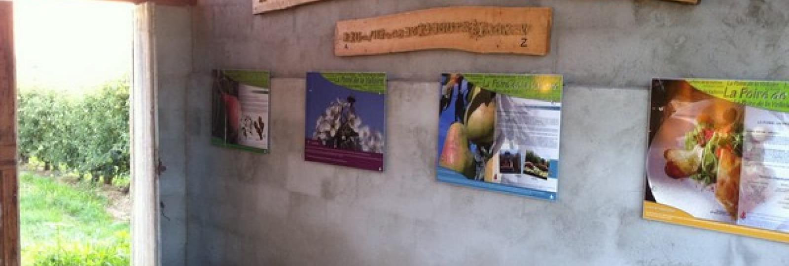 Exposition permanente sur le métier d'arboriculteur