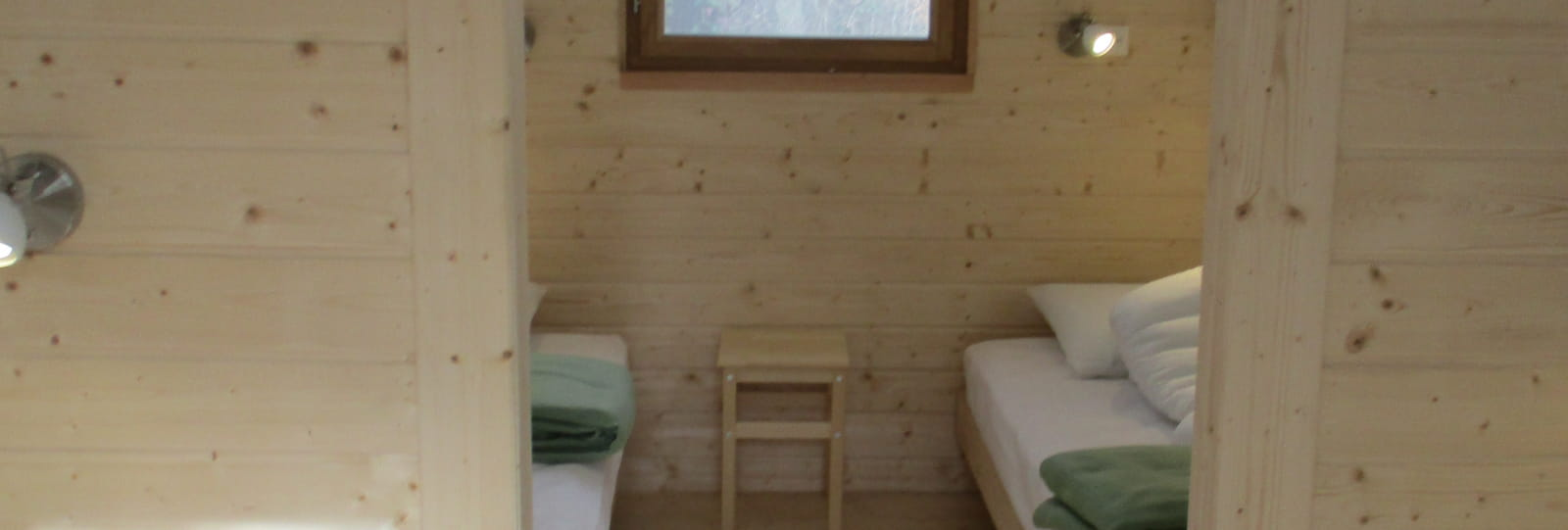 les huttes et salle Vercors domaine des Ayasses