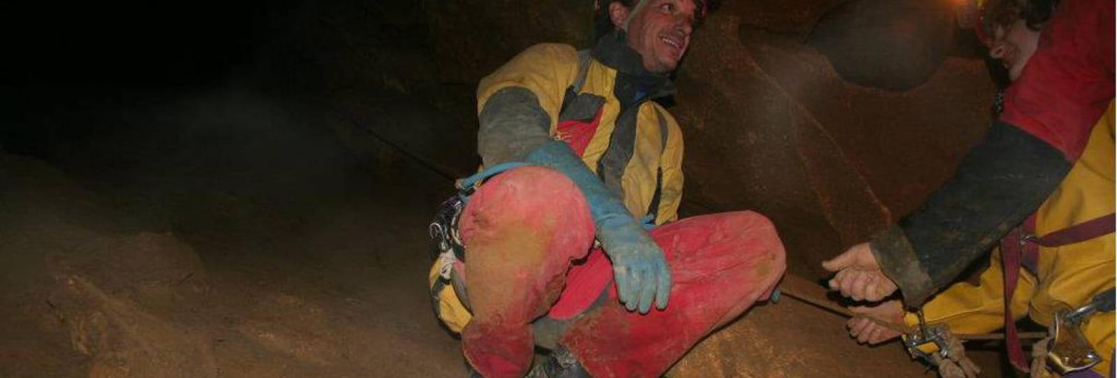 Spéléo : La grotte Roche