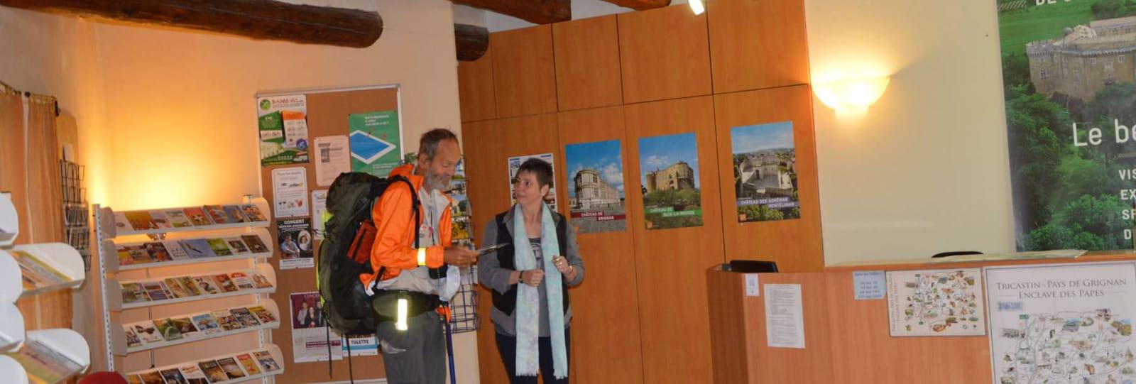 Office de tourisme Intercommunal Drôme Sud Provence - Accueil de Suze la Rousse